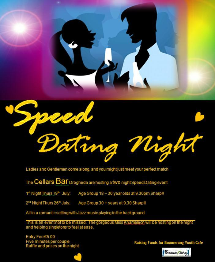 Speed dating boomerang